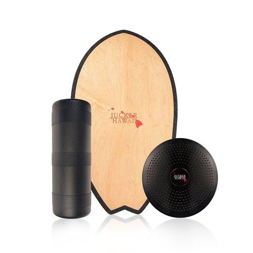 Balanceboard ohne Stopper inkl Korkrolle JUCKER HAWAII Balance Board Homerider Surf Pure PRO