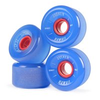 JUCKER HAWAII Longboard Wheels SUPERBALLS 70mm 80A CP32...